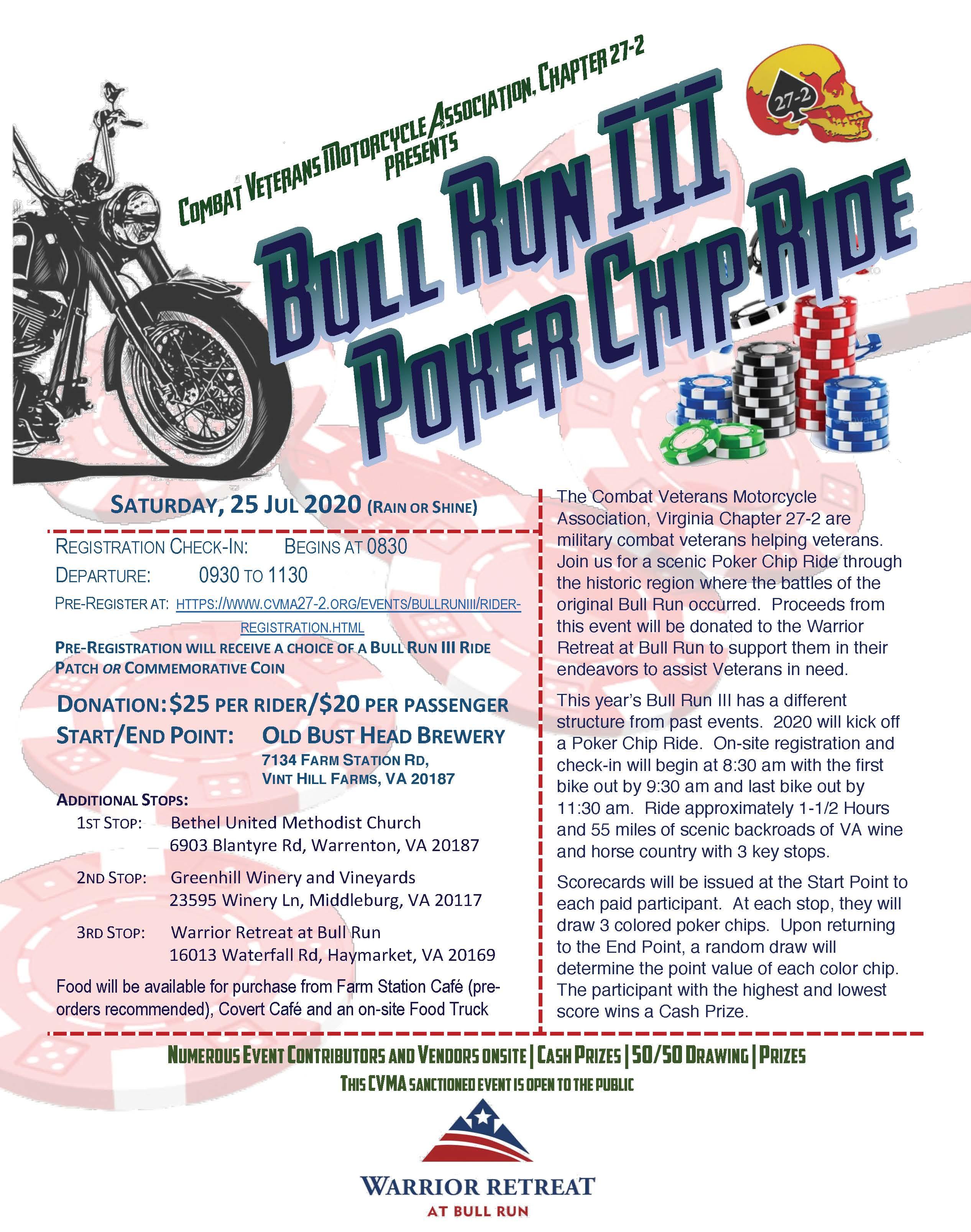Bull Run Iiii Event Ref 61296 Motorcycle Roads