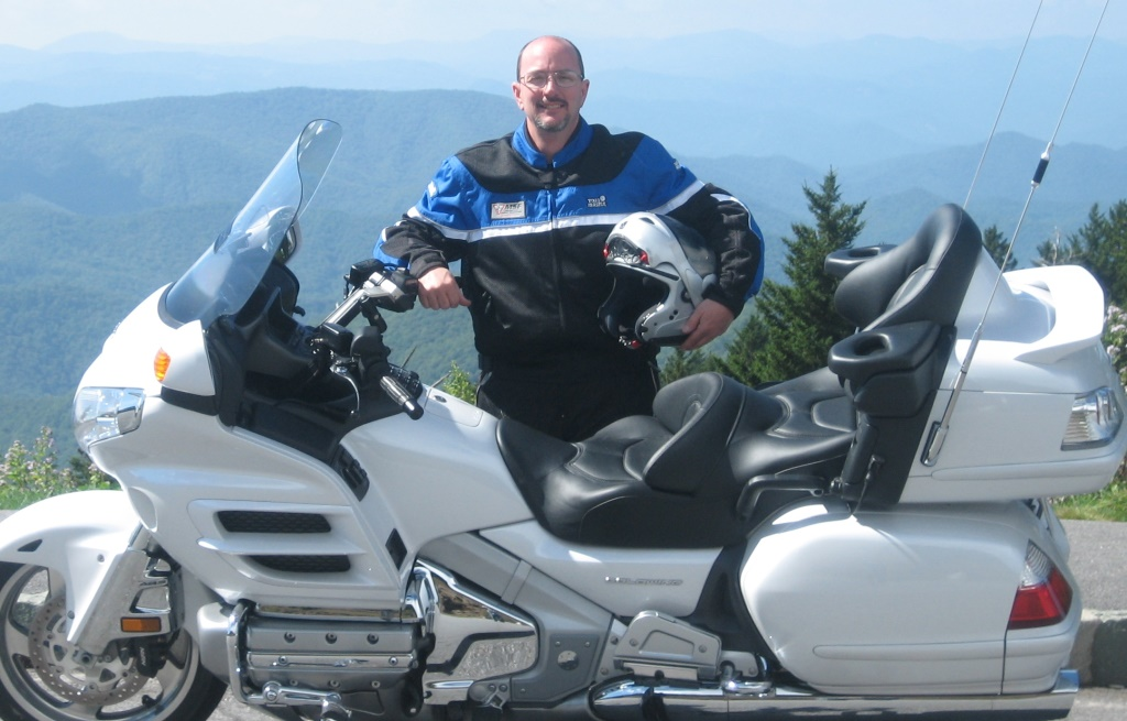 High point of Blue Ridge Parkway