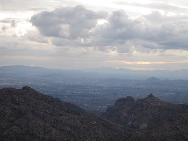 View from mount Lemon