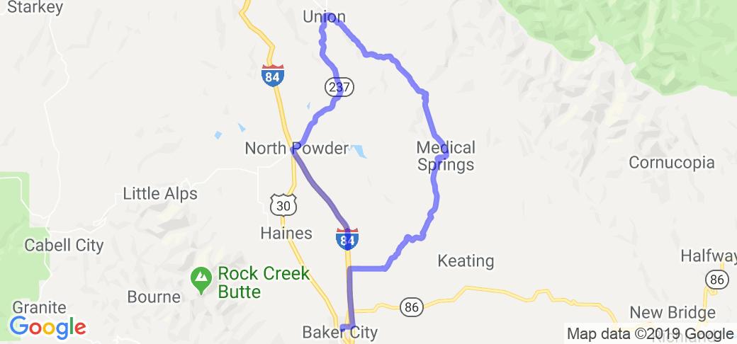 Catherine Creek Loop    Oregon
