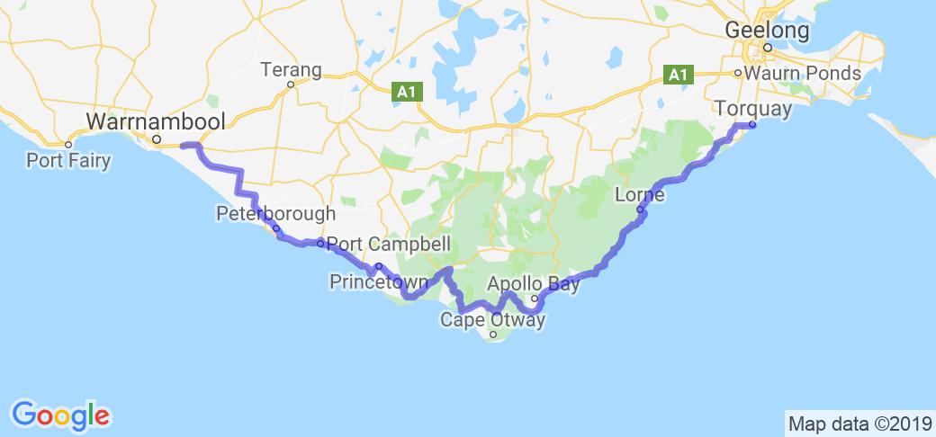 The Great Ocean Road |  Australia
