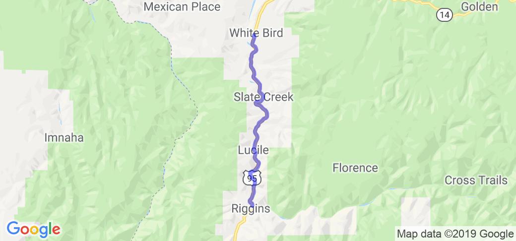 River of No Return Driving Tour:  Riggins to White Bird |  Idaho