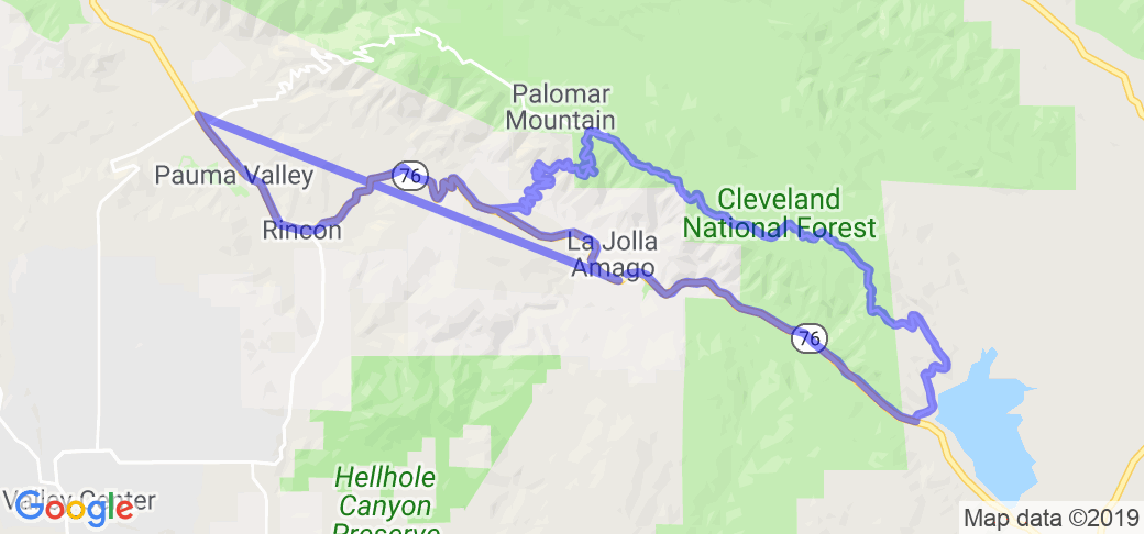 The Palomar Mountain Loop |  California