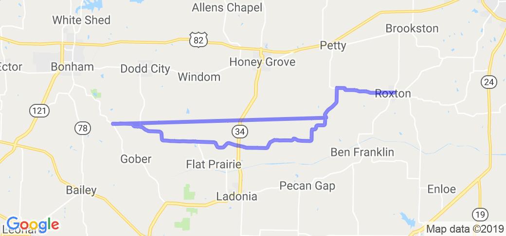 Farm to Market Roads 1500 to 824 to 137 |  Texas