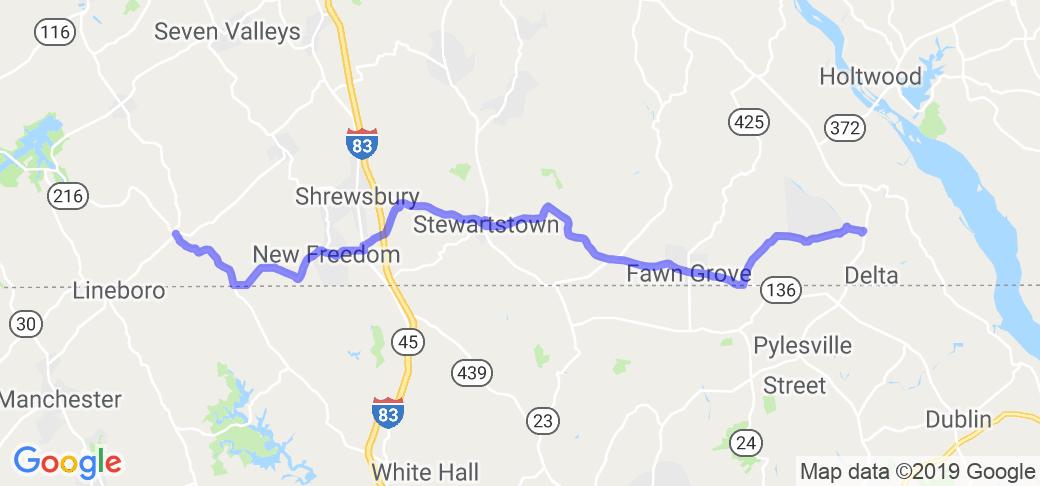 PA Route 851    Pennsylvania