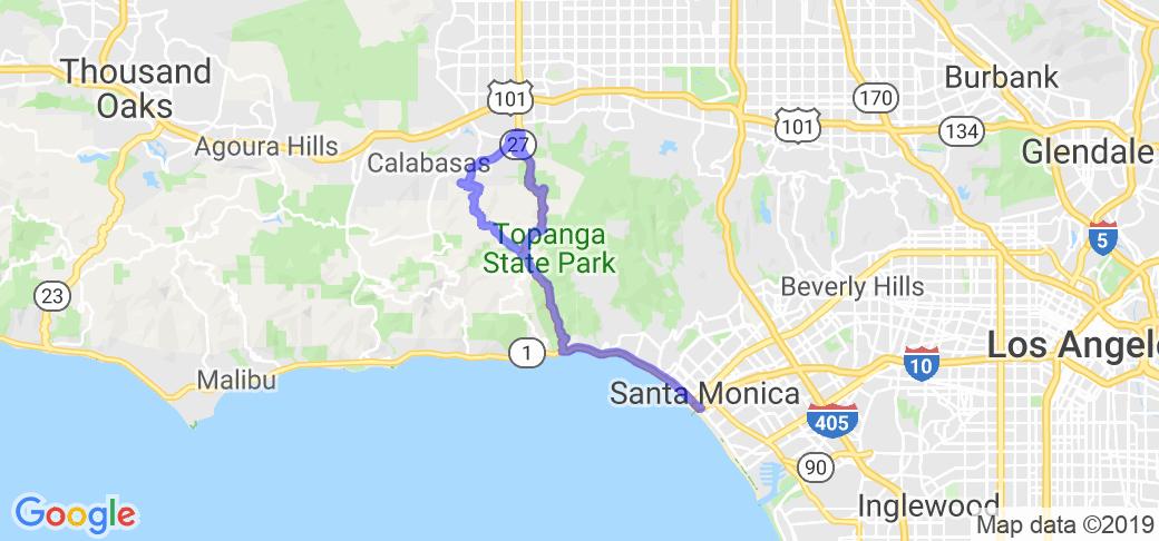Topanga Canyon Loop |  California