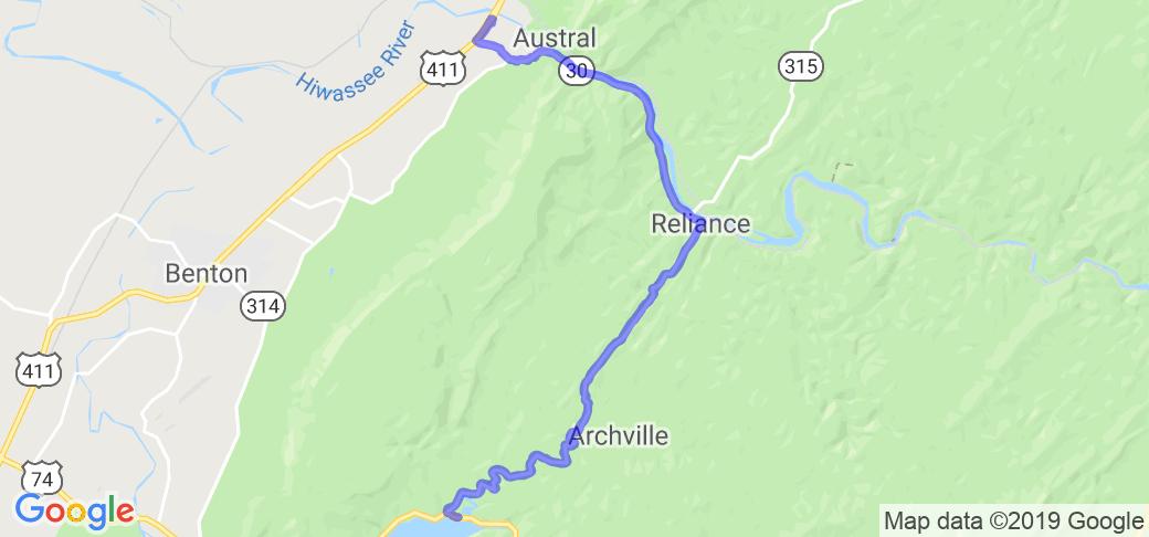 Backroads of Ocoee |  Tennessee