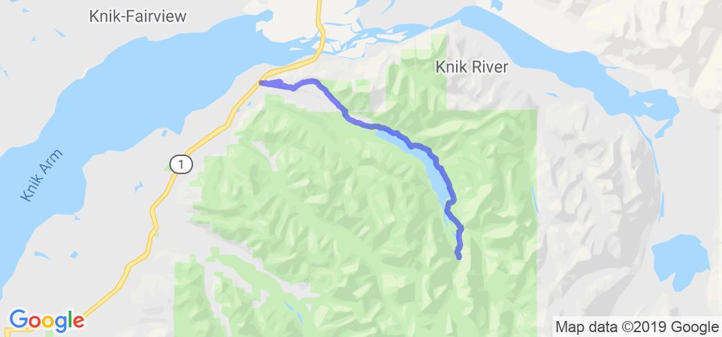 Eklutna Lake Road |  Alaska