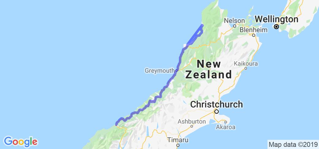 500 Kilometers of West Coast New Zealand Heaven |  New Zealand