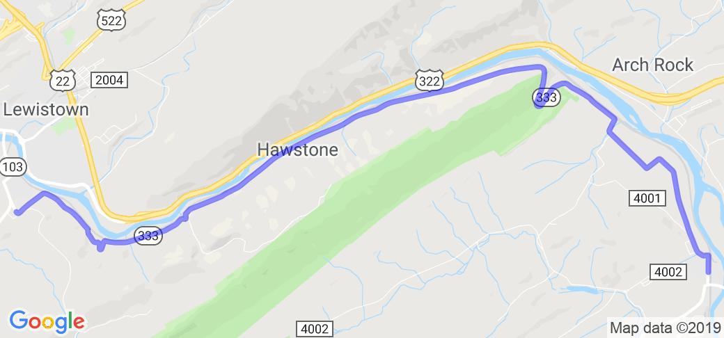 PA Ridge Ride - Hawstone Road |  Pennsylvania