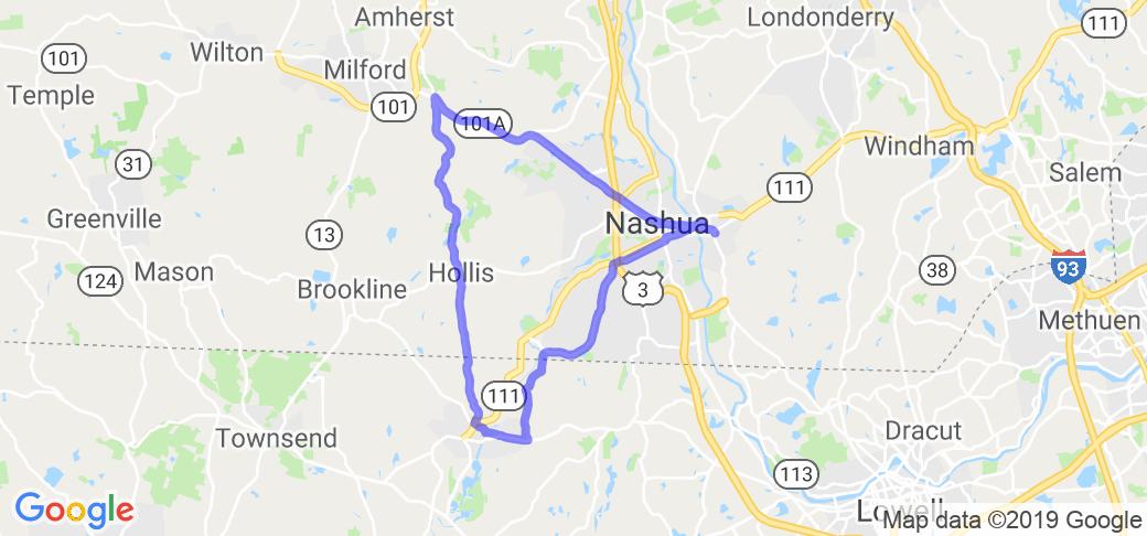 The Nashua Triangle |  New Hampshire