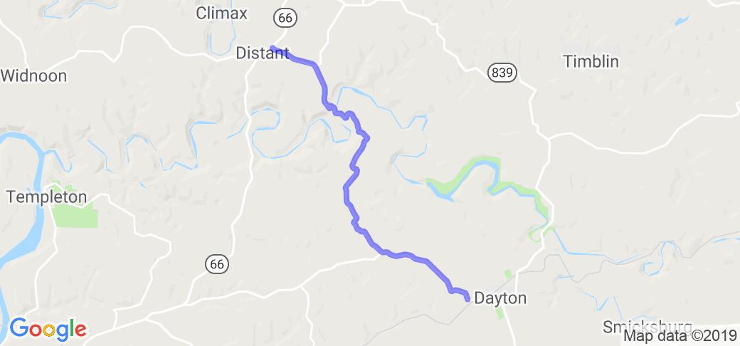 Belknap-Distant Road - PA County Route 1018 & 1025 |  Pennsylvania