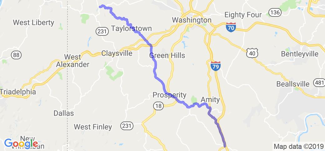 Pennsylvania Route 221 |  Pennsylvania