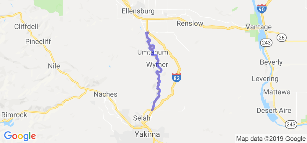 Yakima River Canyon Scenic Byway |  Washington
