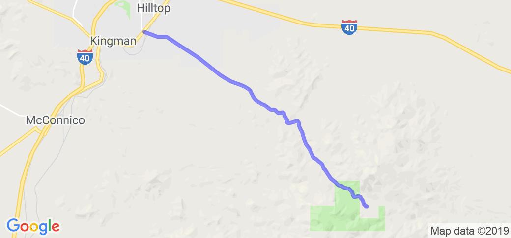 Hualapai Mt. Road    Arizona