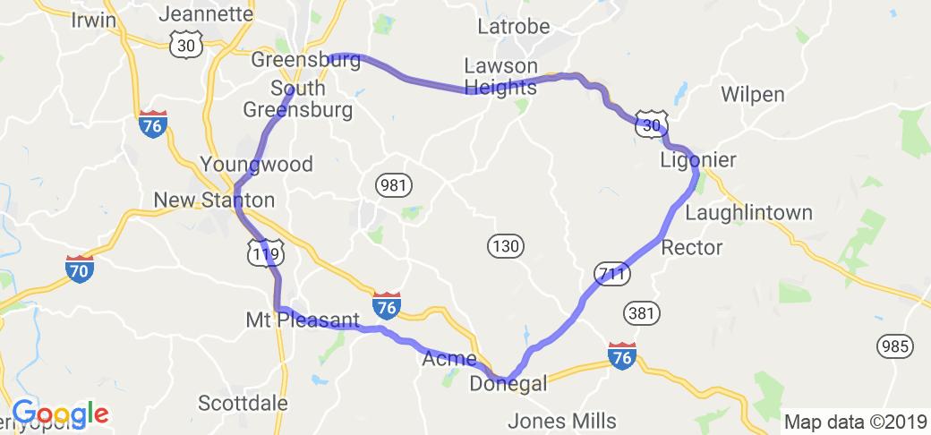 Greensburg Donegal Loop |  Pennsylvania