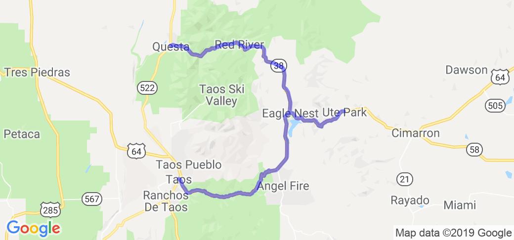 Enchanted Circle Plus Side Trip |  New Mexico