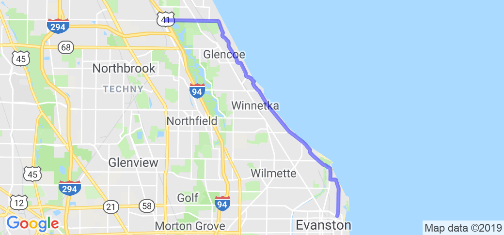 Sheridan Rd / Chicago Botanic Garden |  Illinois