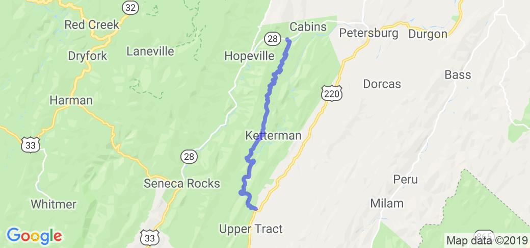 Smoke Hole Road |  West Virginia