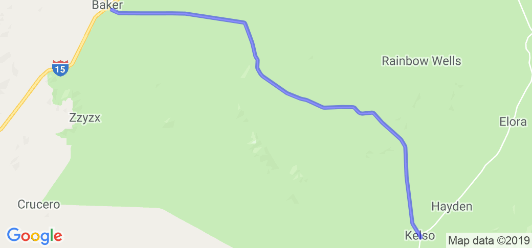 Mojave National Preserve Tour II |  California