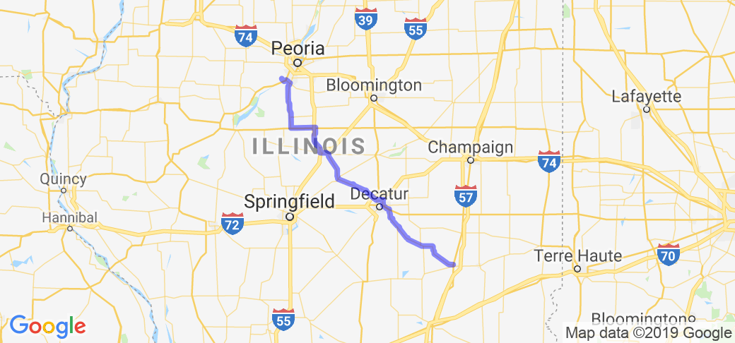 Mattoon to Peoria Grand National |  Illinois