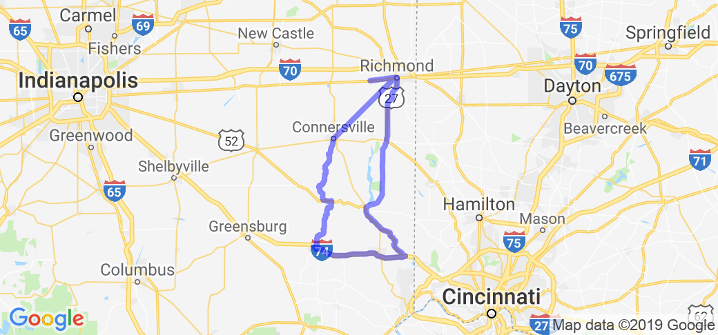 Eastern-Central Indiana Canal Loop |  Indiana