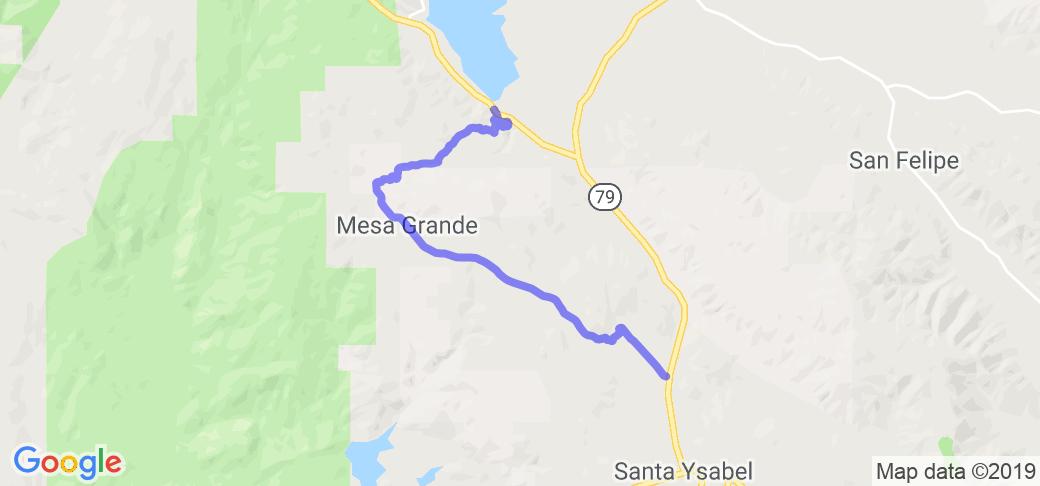 Mesa Grande Road |  California