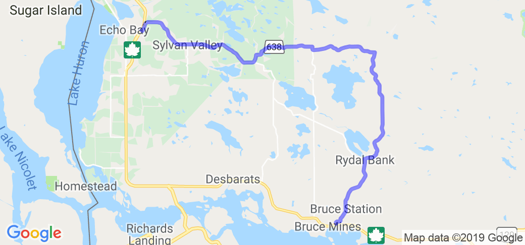 Route 638 Near Rock Lake (Ontario, Canada) |  Canada