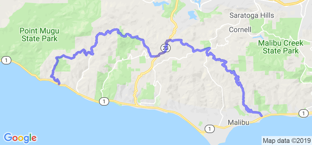 Tour De Malibu - Latigo Canyon to Deer Creek |  California
