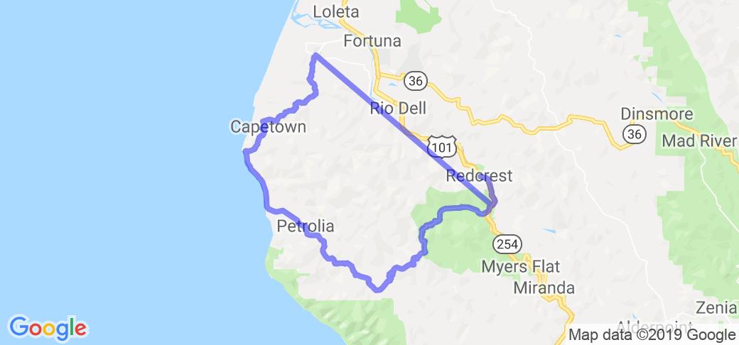 Mattole Road |  California