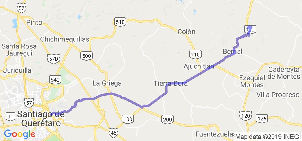 Pena de Bernal and Tequis Queretaro Mexico |  Routes Around the World