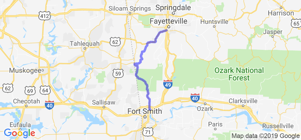College Road Trip |  Arkansas