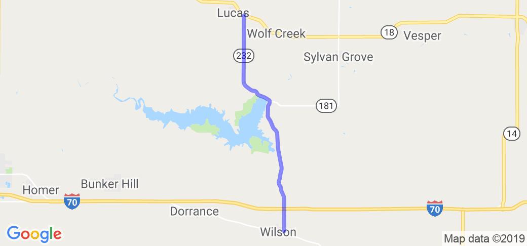Post Rock Scenic Byway    Kansas