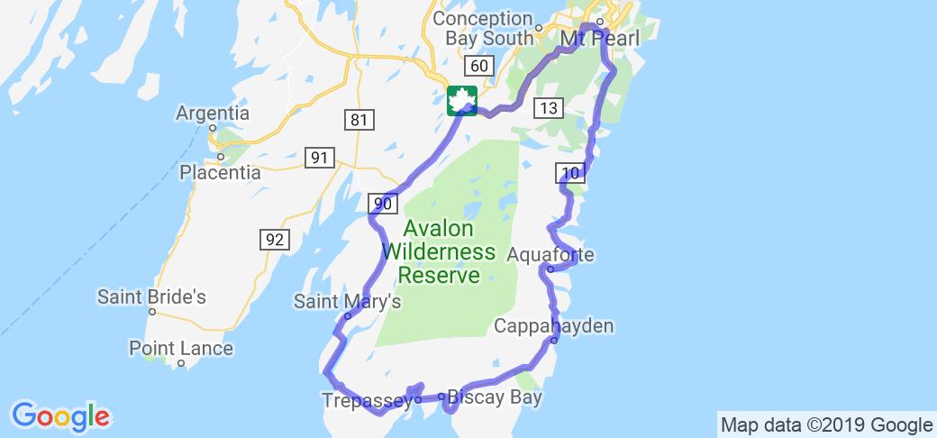 Irish Loop (Newfoundland, Canada) |  Canada