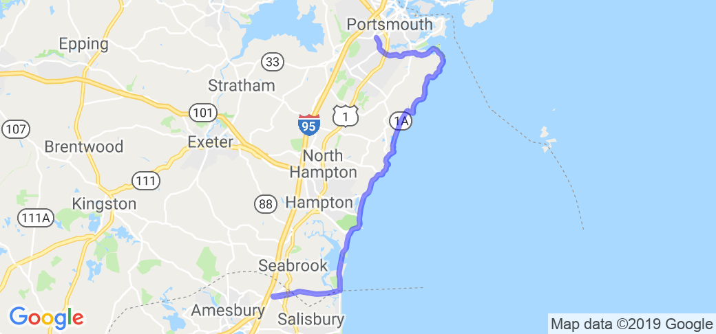 Rt 1A - The Seacoast Highway |  New Hampshire