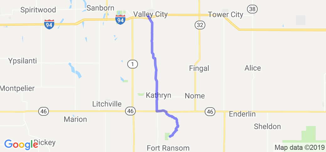 Sheyenne River Valley Scenic Byway |  North Dakota