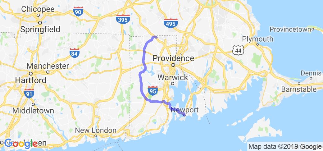 The Backdoor to Newport RI |  Rhode Island