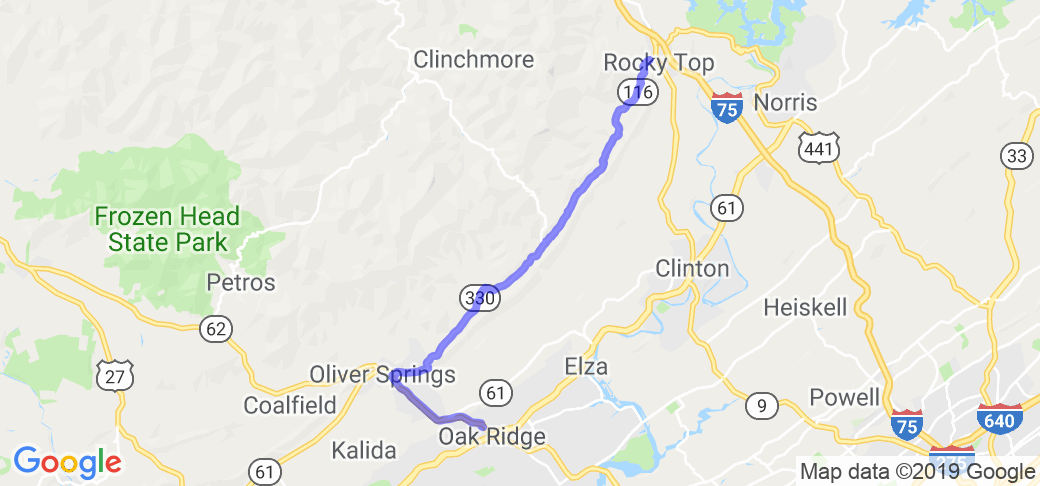 Brushy Mountain Run |  Tennessee