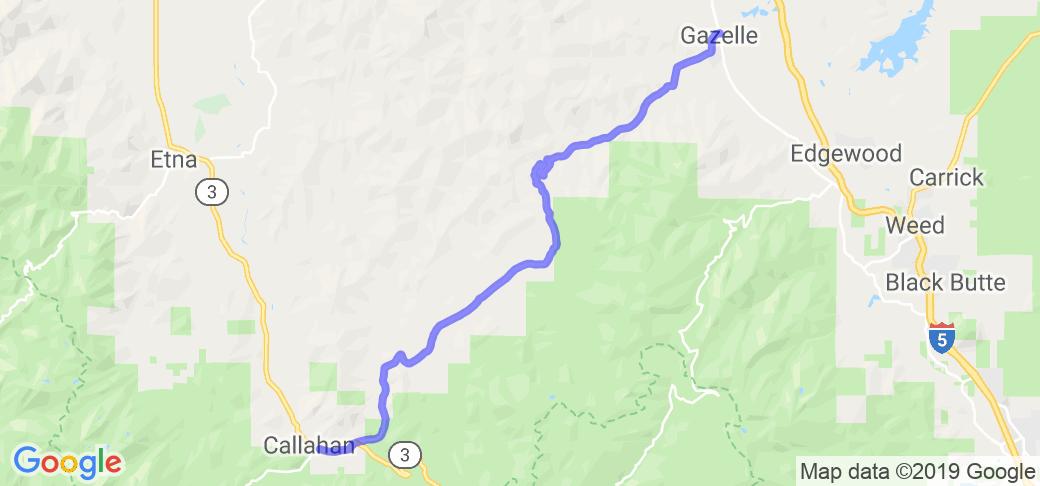 Gazelle Callahan Road |  California