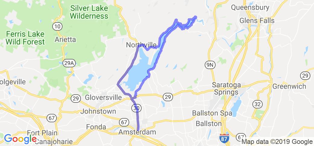 The Great Sacandaga Lake Loop |  New York