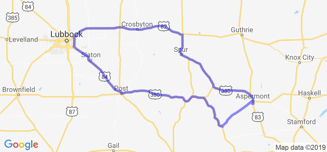 Double Mountain Loop |  Texas