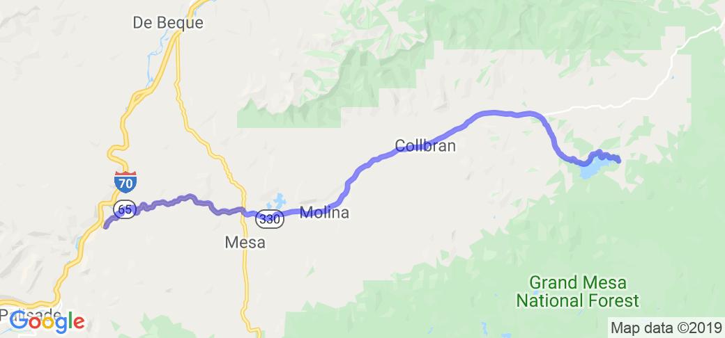 Plateau Creek    Colorado