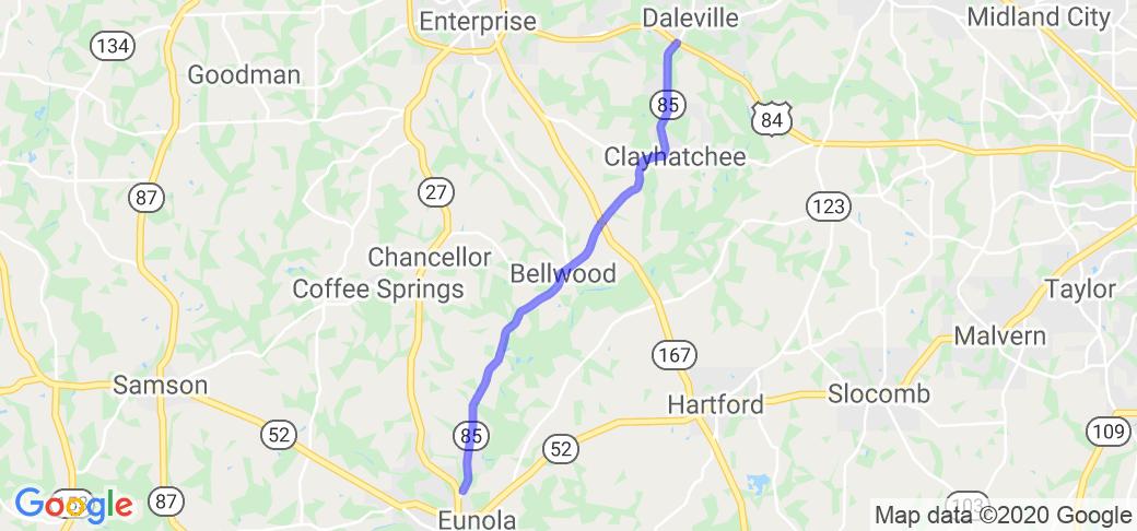 AL 85 to SR 85 |  Alabama