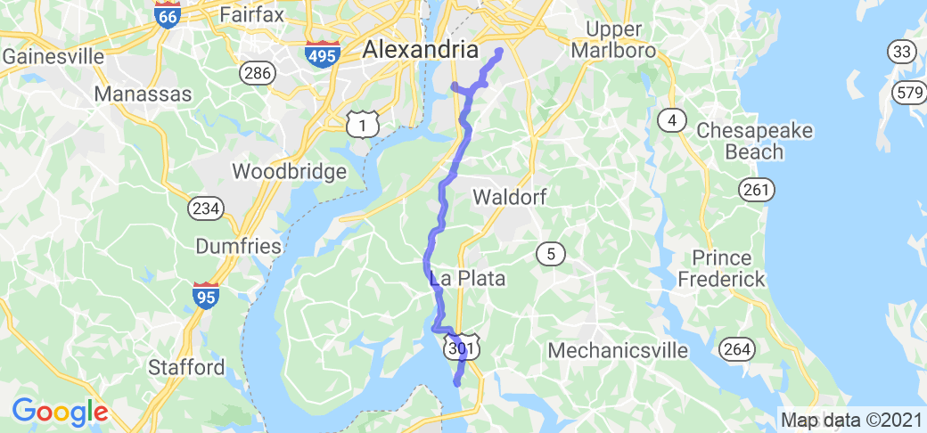 Harley Davidson of Washington to Popes Creek |  Maryland