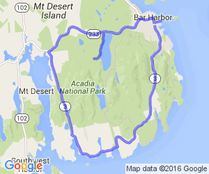 Acadia National Park - Bar Harbor Loop |  Maine