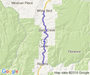 River of No Return Driving Tour:  Riggins to White Bird |  Idaho