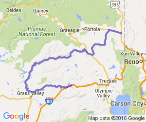 Yuba River Ride; Hallelujah Junction to Emigrant Gap |  California