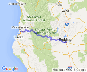 Hwy 299 from the coast to Redding, CA |  California