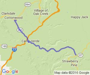Route 260 To 87    Arizona