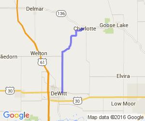 DeWitt to Charlotte    Iowa